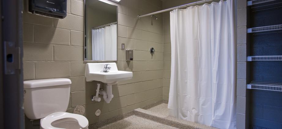 Fire Station Bathroom