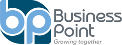 Logo business point