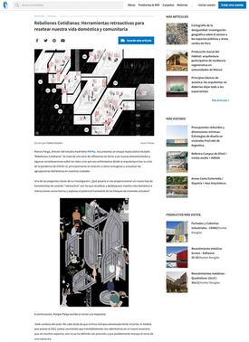 Rebeliones Cotidianas in ArchDaily