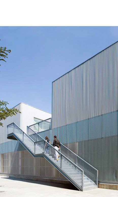 031_Bernadette School Extension. Madrid, Spain. Completed 2007