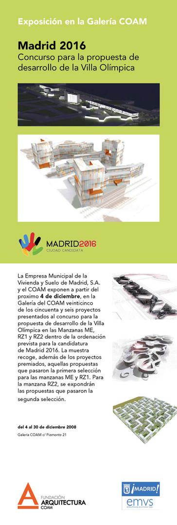 Madrid 2016 Olympic Villa
