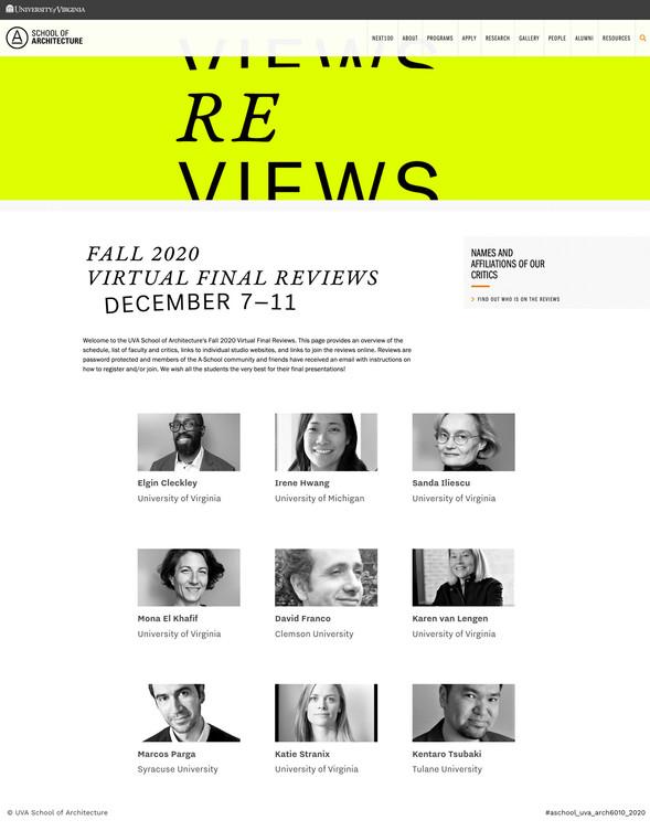 12/10/2020. UVA Final Reviews Fall 2020