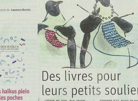 Des haïkus plein leurs petits souliers pour la Saint-Nicolas