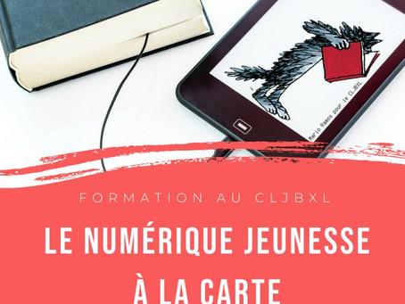 Formation numérique jeunesse : LIVRES NUMÉRIQUES POUR LES ENFANTS, FORMATIONS 2018-2019 AU CLJBXL
