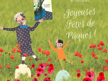 CONCOURS DE PÂQUES : GAGNEZ UN EXEMPLAIRE DE MA MAMIE EN POÉVIE ET DES OEUFS FRAIS !