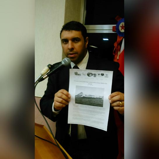 Vereador Dr. Felipe Auni      foto GBNews