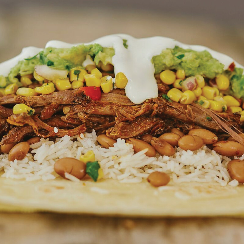 A Boojum burrito