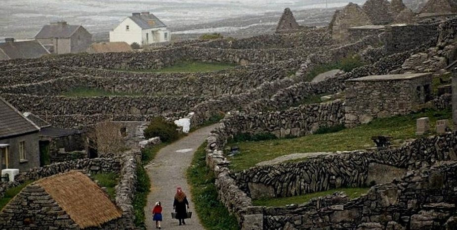 A view of the Aran Islands