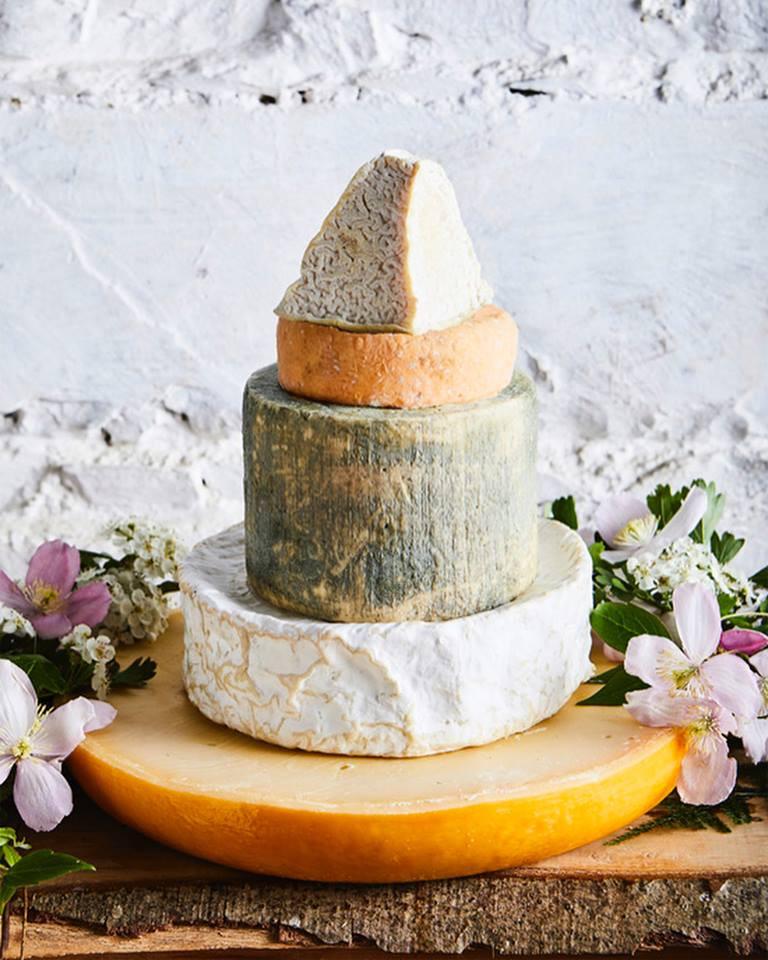 A few beautiful Sheridan's cheesemoner cheeses