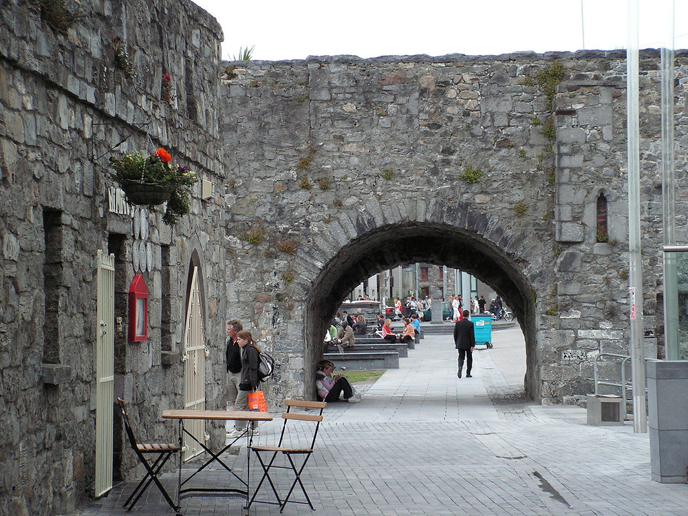 The Spanish Arch, a must see on the Free walking tour