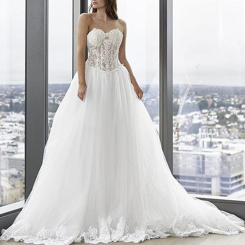 CZ2480-澳洲品牌Cizzy Bridal心形胸A line婚紗