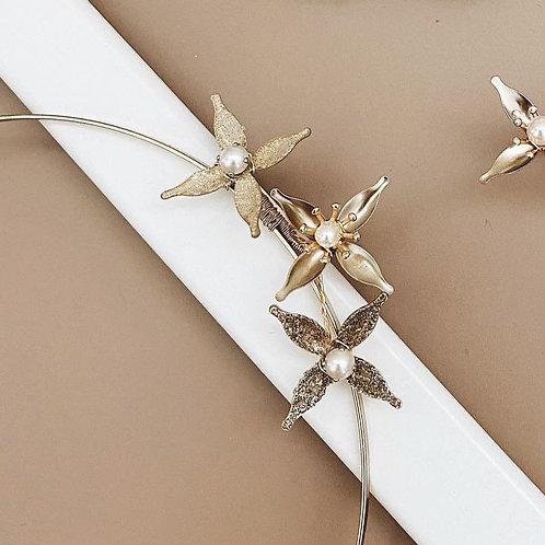 金色星光-金色星星髮箍(需兩星期製作)