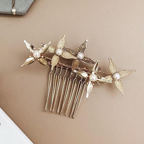 金色星光-金色星星髮梳(需兩星期製作)