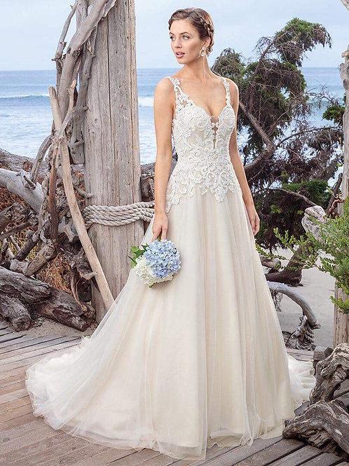 WGK008 - 品牌Casablanca Bridal背心A line婚紗