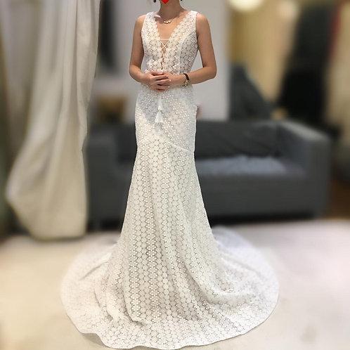 WGS005 - 波希米亞魚尾婚紗