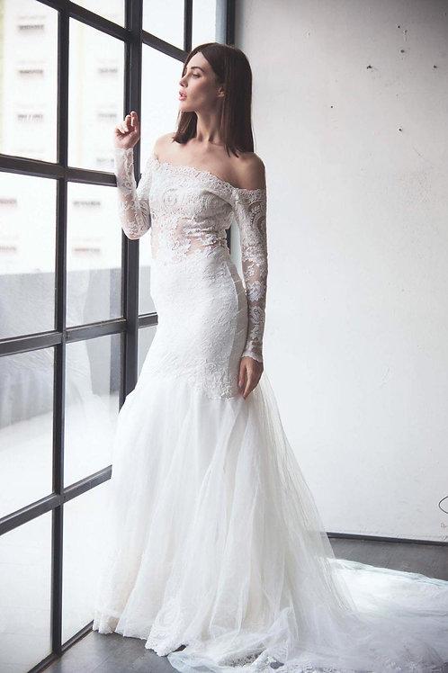 WGL2554 - 荷蘭Olvi's Bridal品牌魚尾婚紗