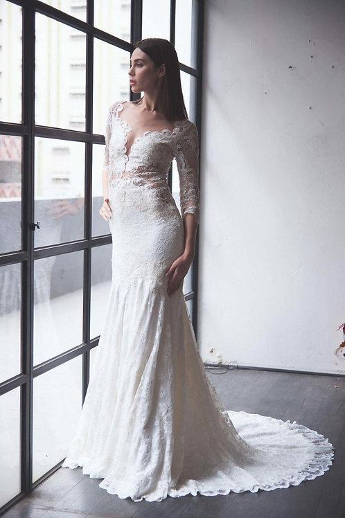 WGL2532 - 荷蘭Olvi's Bridal品牌魚尾婚紗