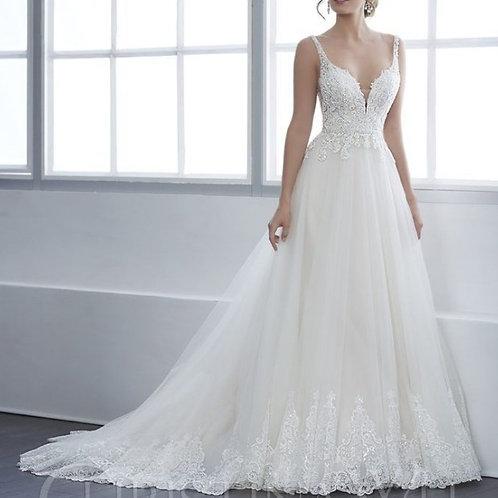 W307 - 釘珠A line婚紗