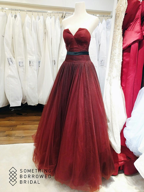 EGSF0512- 黑紅色晚裝