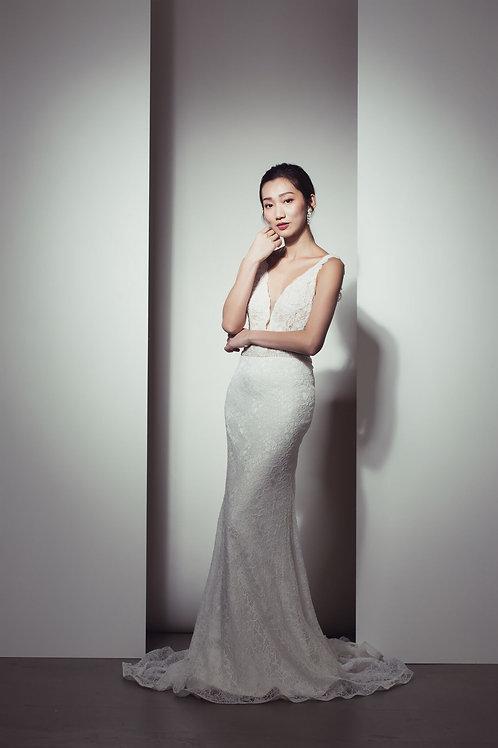 WA6029 - 澳洲品牌White April Bridal魚尾婚紗