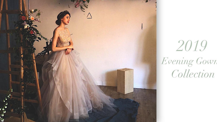 The Pantone Color of The Year 2018 Fall Winter Collection. Follow the color trend of Evening gown wi