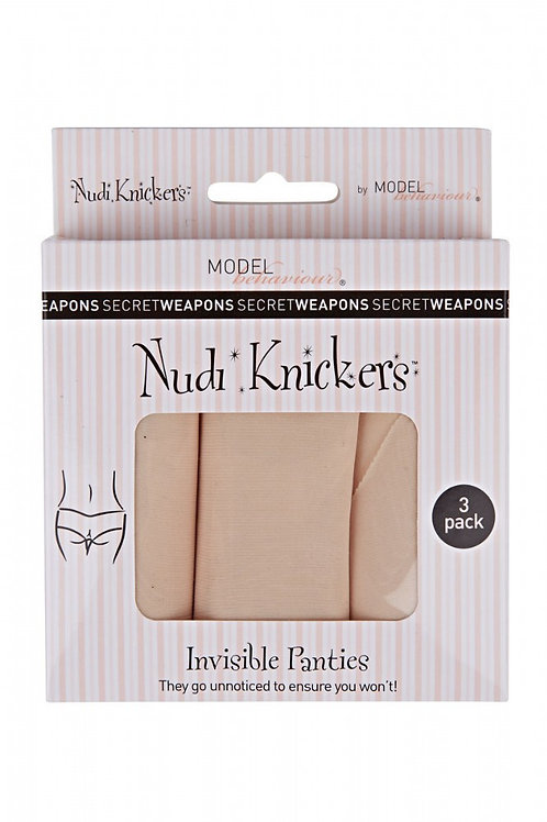 Nudi Knickers (3 Pieces)