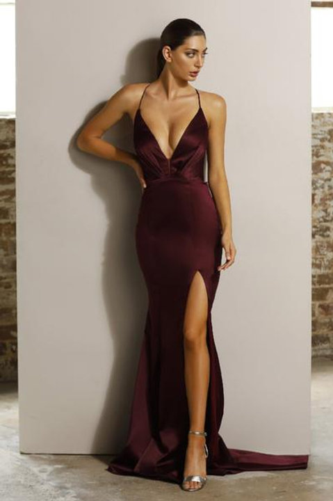 JX1101 Berry- 澳洲品牌Jadore紫色晚裝