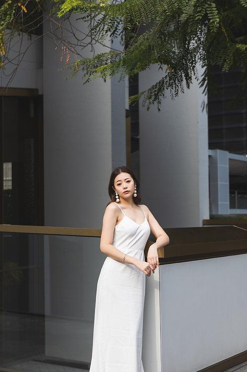 簡約吊帶裙