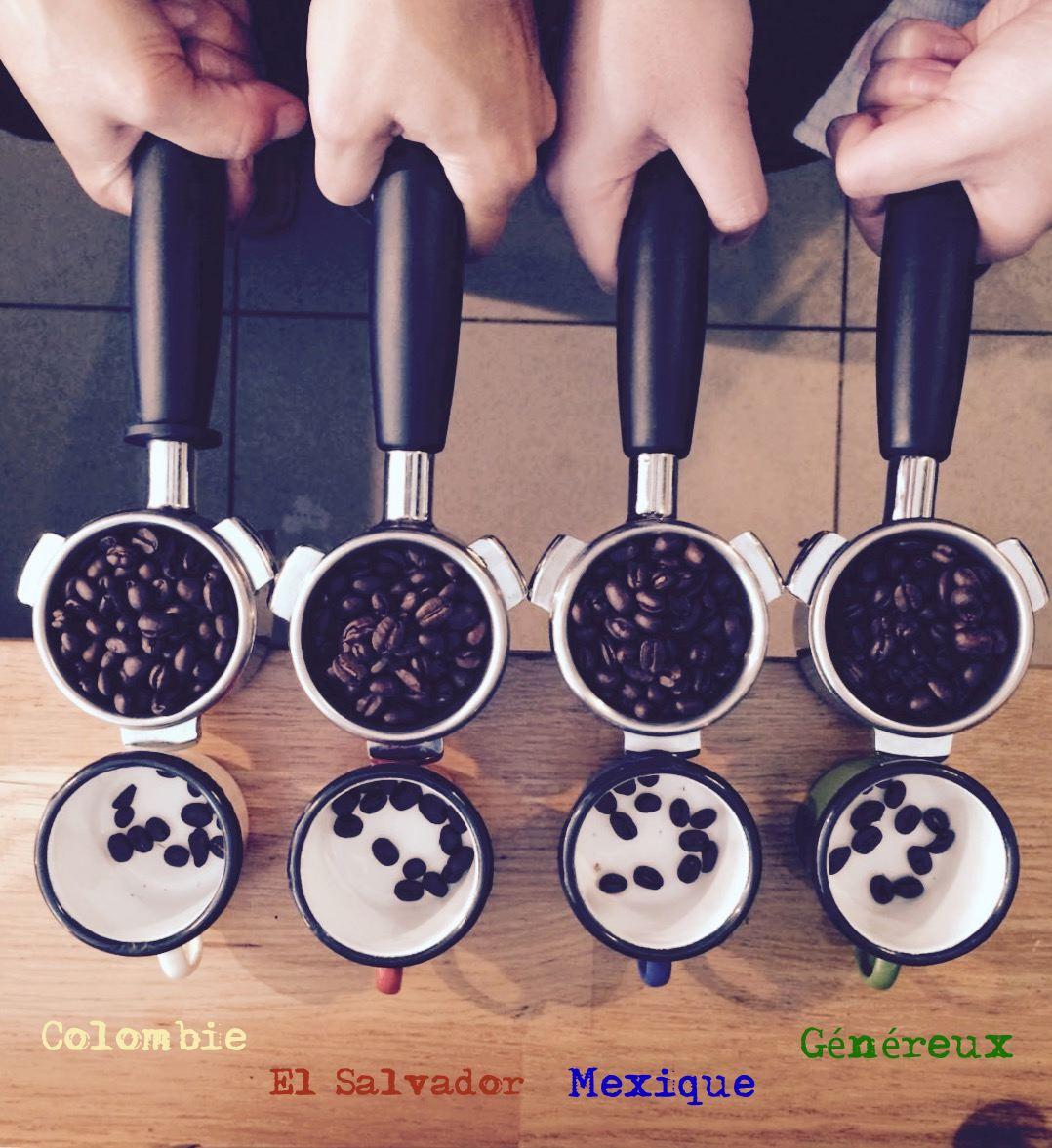 Nos cafés!