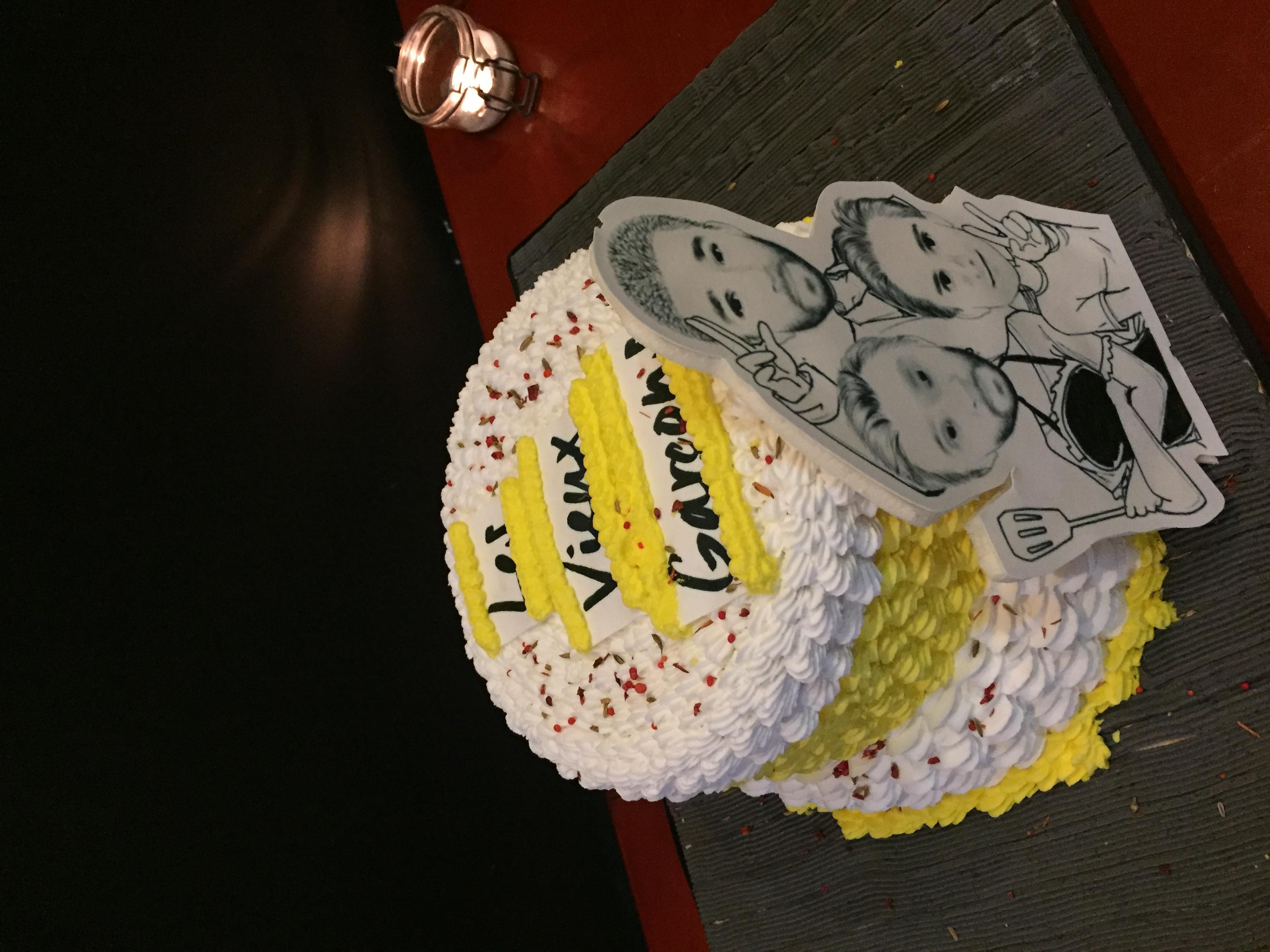 Gâteau 1er anniversaire!