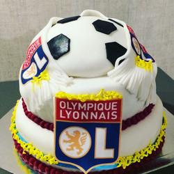 Gâteau Olympique Lyonnais!
