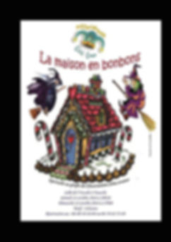 programme spectacle la maison en bonbons Côté Cour Veauche Loire