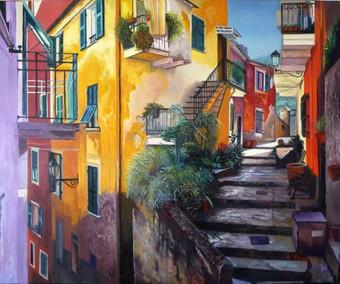 Landscape of Tuscany original painting Price: 800$