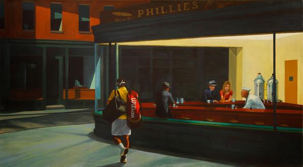Nightfed, a study after Hopper