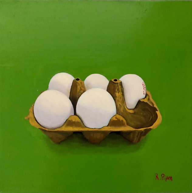 Small painting of eggs Price: 330$