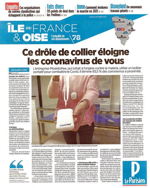 Article paru sur Le Parisien