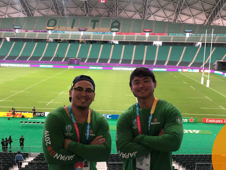International Students For The Japan Rugby World Cup 2019