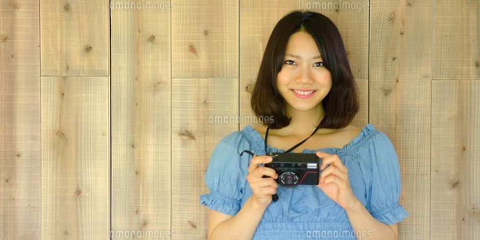 【講習会】有名カメラ女子による一眼レフカメラセミナー