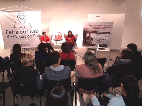 Atividade do Competi na 34ª Feira do Livro discute erradicação do trabalho infantil
