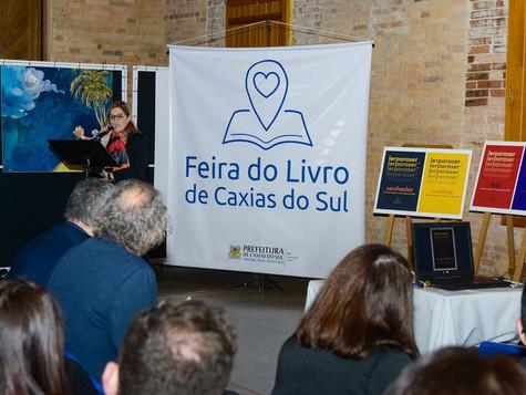 Programação da 34ª Feira do Livro de Caxias do Sul envolve 62 escritores nacionais e internacionais