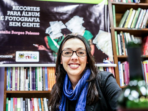 Natália Borges Polesso é eleita patrona da 33ª Feira do Livro de Caxias do Sul
