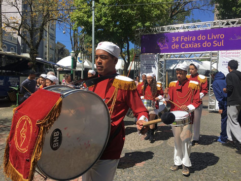 Bandas marciais ganham espaço na programação artística da 34ª Feira do Livro de Caxias do Sul