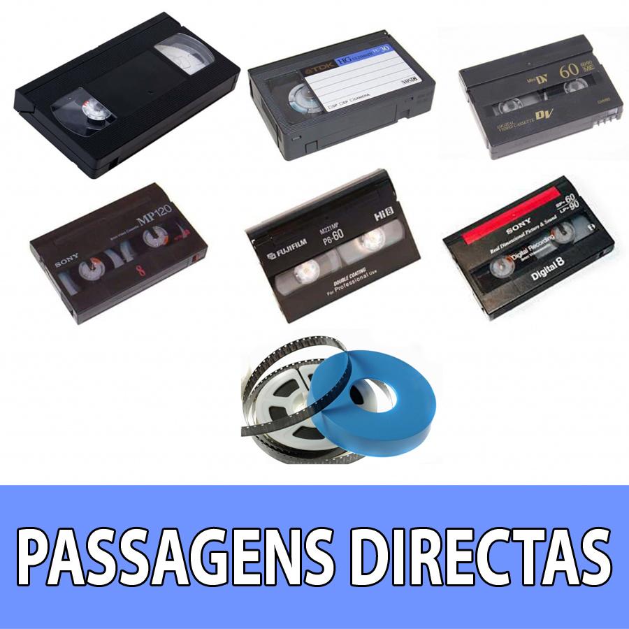 Conversão de cassetes para digital