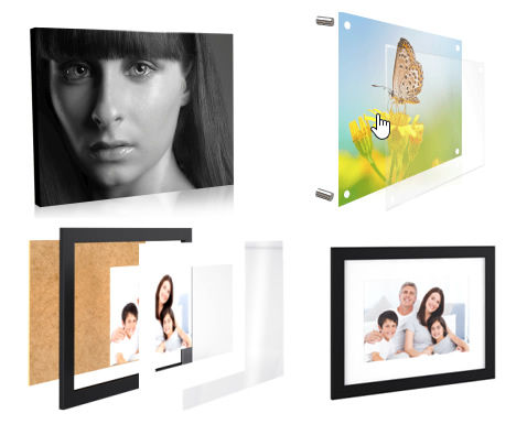 revelação de fotografias em tela, impressão em acrilico,emolduramento de quadros, impressão directa em suportes rigidos,