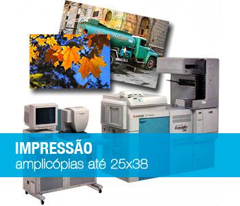 Impressão digital pequeno formato