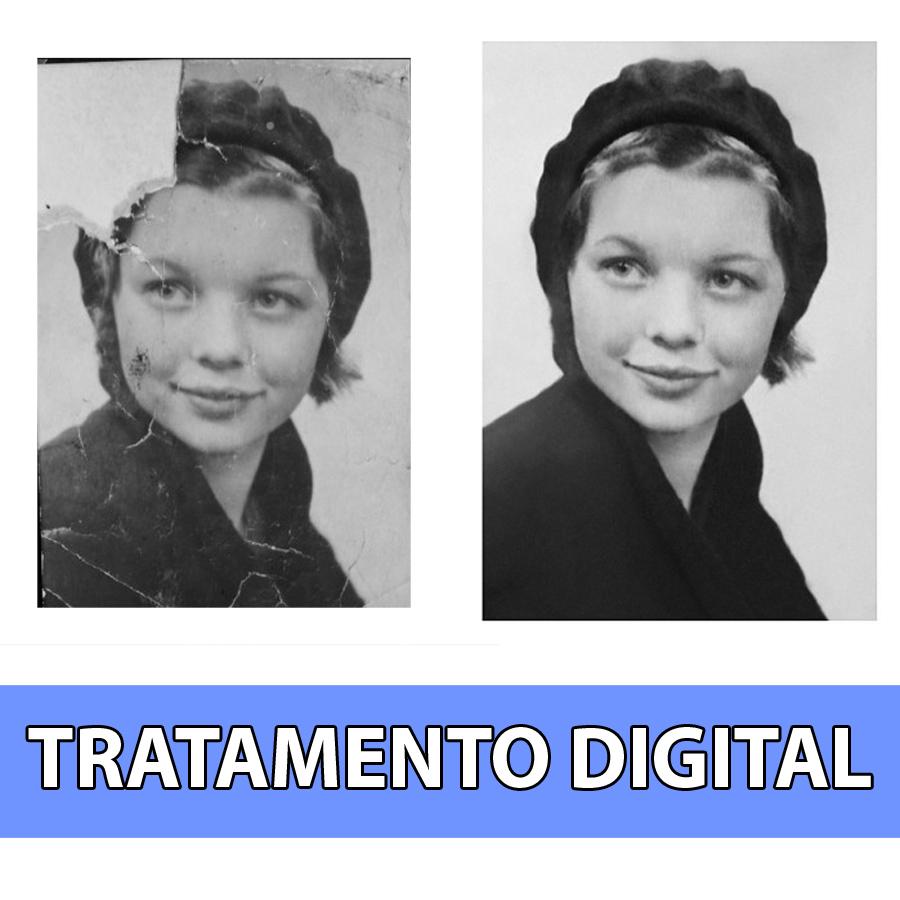 Tratamento e restauro de fotografias