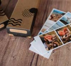 Fotografias Polaroid de sessão fotográfica