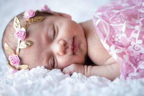 recen nascida princesa