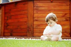 sessão a menino dia do batismo