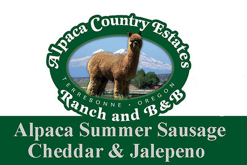 Cheddar and Jalapeno Summer Sausage